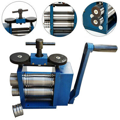 $185.26 • Buy 75mm Roller Rolling Miller Manual Combination Rolling Mill Machine Jewelry Maker