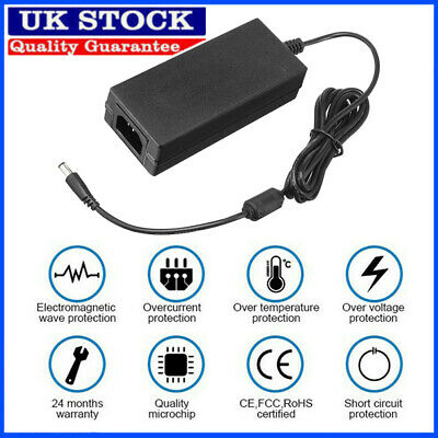 £11.98 • Buy 24V 3A 72W AC DC Switching Power Supply Pack LED Adapter Charger Desktop Black