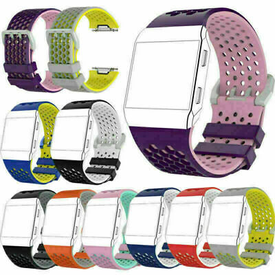 AU13.56 • Buy For Fitbit Ionic Watch Replacement Silicone Wrist Band Strap Bracelet Watchband