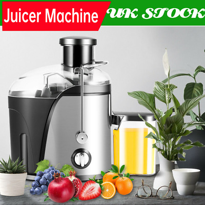 £49.27 • Buy Professional 400W Juicer Machine Cold Press Fruit Extractor Blender Stainless UK