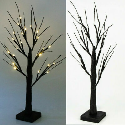 £9.89 • Buy 24LEDs Light Up Lit Birch Twig Tree Christmas Decoration Easter Tree Party Decor