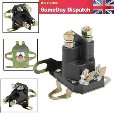 £8.58 • Buy 12V 4-pole Starter Solenoid Relay Motor For BRIGGS STRATTON Motorboat Lawn Mower