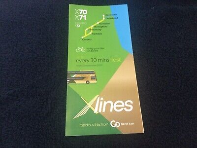 £2 • Buy Go North East X70 X71 Timetable