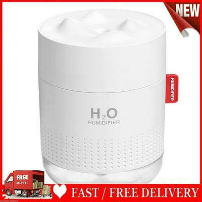 AU24.17 • Buy 500ml 7 Color LED Ultrasonic USB Humidifier Essential Oil Diffuser (White)