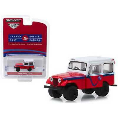 $16.07 • Buy 1975 Jeep DJ-5  Canada Post  Red With White Top  Hobby Exclusive  1/64 Diecast M