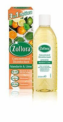 £4.15 • Buy Zoflora Mandarin And Lime Concentrated Disinfectant All Purpose Cleaner Kills 99
