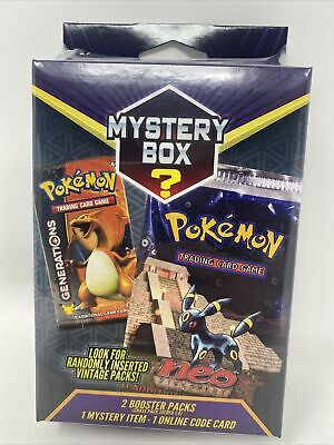 $54.99 • Buy 2021 Pokemon Mystery Power Box Vintage Chase Pack Seeded 1:4 Factory Sealed