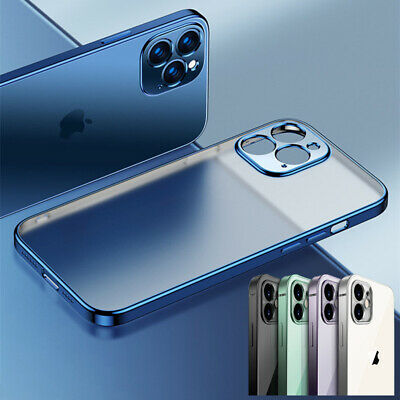 AU7.99 • Buy Matte Clear Case For IPhone 12 11 Pro Max XS X MA  XR 8 7 SE Shockproof Cover