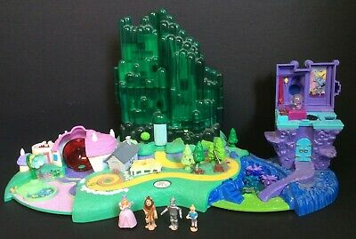 £19 • Buy Vintage Polly Pocket Wizard Of Oz Emerald City Playset And Figures