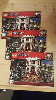 $ CDN389.50 • Buy Lego Harry Potter Set 10217 Diagon Alley. Complete With Instructions