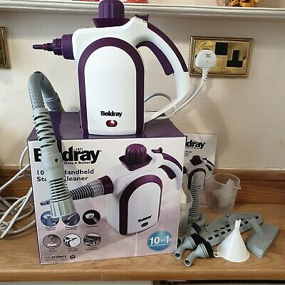 £19.99 • Buy Beldray Handheld Steam Cleaner With Accessories