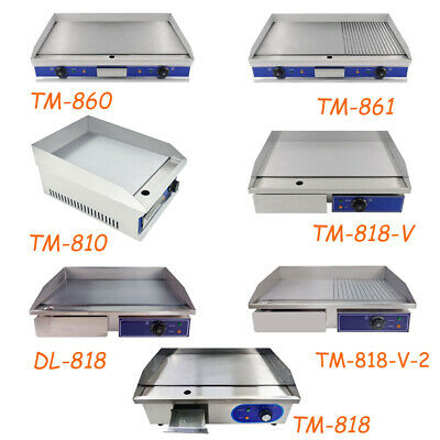 £109 • Buy Commercial Griddle BBQ Electric Hotplate Countertop Kitchen Grilling Catering