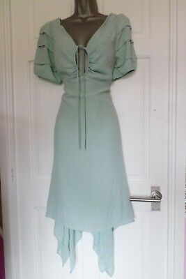 AU1.84 • Buy Studio By Preen...size 14...gorgeous Aqua Green Summer Dress.....must See...look