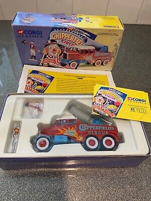 £20 • Buy Corgi Classics Chipperfields Circus 17801 - Scammell Constructor Human Cannon