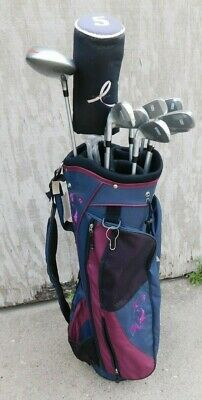 AU351.26 • Buy New  Nwt Wilson Hope Cancer Golf Clubs Womens Right Handed Bag 4-sw 3/5 Wood
