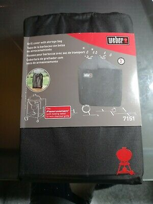 $ CDN30.16 • Buy Weber 7151 Grill Cover Performers W/Folding Table And Storage Bag NIP