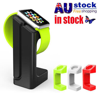AU12.79 • Buy For Apple Watch Charger Stand Holder Charging Dock Station IWatch 38/42mm HOT