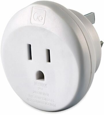 AU9.90 • Buy GO Travel US Travellers To Aus & China Adaptor