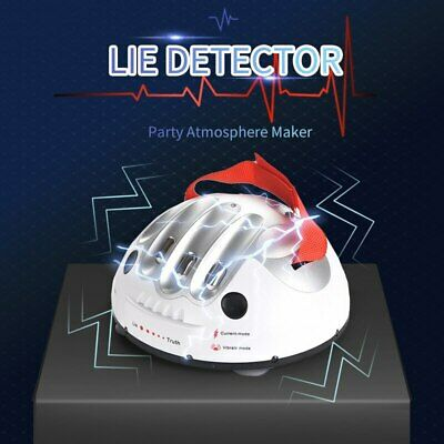 £11.99 • Buy Test Truth Dare Toys Polygraph Shocking Liar Micro Electric Lie Detector Games