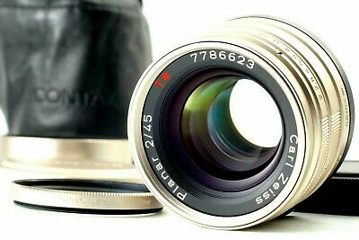 $ CDN565.22 • Buy 【 Mint In Case 】Contax Carl Zeiss Planar T* 45mm F/2 For G1 G2 From Japan #274