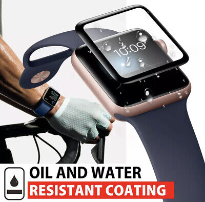 AU3.95 • Buy For Apple Watch IWatch 2 3 4 5 6 SE 44/42/40/38mm PMMA Glass Screen Protector