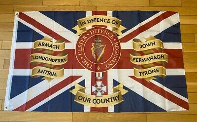 £11 • Buy Ulster Defence Regiment CGC Flag UDR CGC 5Ft X3 Ft
