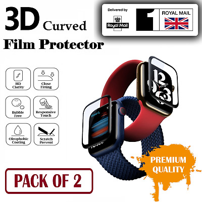$ CDN4.80 • Buy For Apple Watch Series 1 2 3 4 5 6 SE Screen Protector Film Soft Cover IWatch