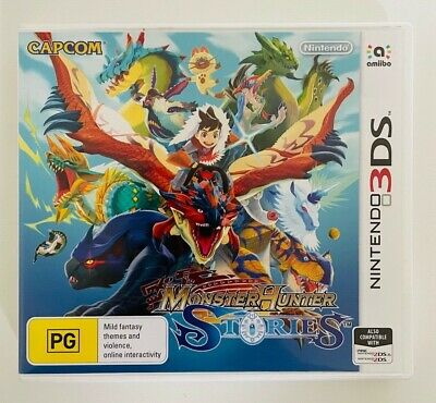 AU145 • Buy Monster Hunter Stories - Nintendo 3DS - Free Tracked Post!