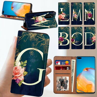 £4.99 • Buy Fits Huawei P20 / P30 / P30 Lite /P40 Phone Case Leather Flip Wallet Book Cover