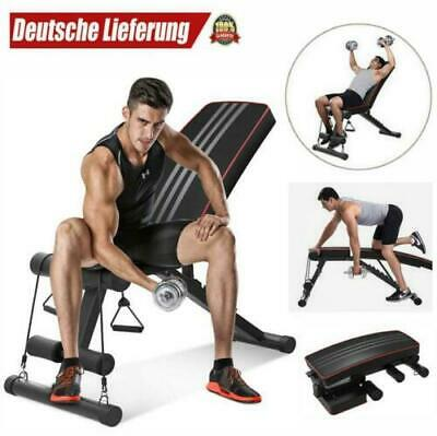 £39.99 • Buy Adjustable Weight Bench Gym Workout Flat Incline Decline Sit Up Lifting Barbell