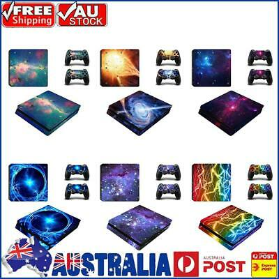 AU12.39 • Buy Skin Stickers For PS4 Sony Playstation 4 Slim Console 2 Controller Decal