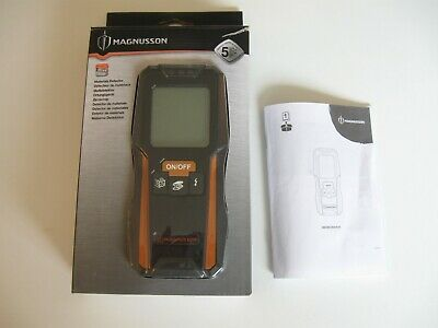 £16.99 • Buy Magnusson 3-in-1 Metal Wood & Live Wire Material Detector + Instructions