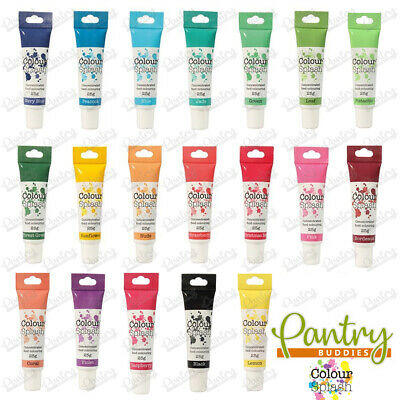 £2.69 • Buy Colour Splash Food Colouring Gel Concentrated Paste For Cake Decorating - 25g
