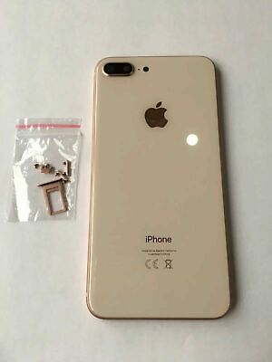 £23.49 • Buy APPLE IPhone 8 PLUS Frame GLASS BACK CHASSIS HOUSING REPLACEMENT GOLD COLOUR A++