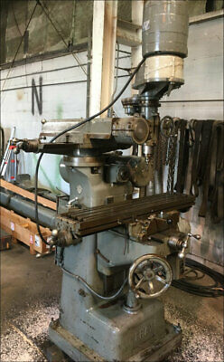 $2450 • Buy Fray All Angle Milling Machine W/ Horizontal & Vertical Spindles