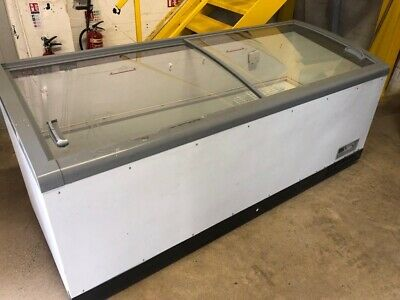 £950 • Buy 3 Commercial Large Chest Freezers Glass Top