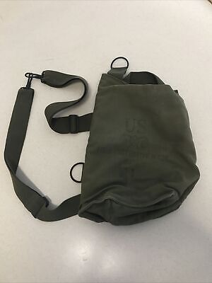 $12.99 • Buy Vintage WWII Field Protective Mask Bag US Military M9A1 G