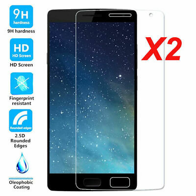 AU5.33 • Buy 2x Premium Thin Tempered Glass Screen Protector Film For OnePlus 1 2 3 3T 5 6 6T
