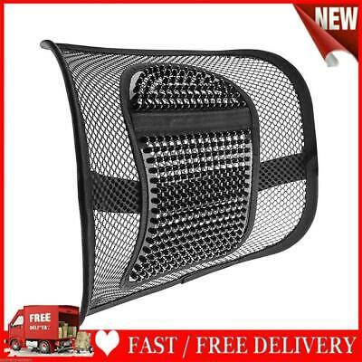 AU17.26 • Buy Car Seat Massage Back Support Mesh Waist Lumbar Support For Office Chair