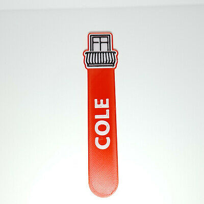 £3.50 • Buy Personalised Balcony Icon Bookmark Party Bag Filler Gift Under 5 Reading Time