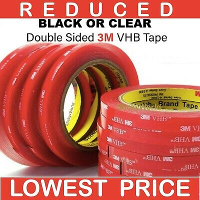 £3.95 • Buy 3M™ VHB™ Double Sided Tape Strong Heavy Duty Acrylic Sticky Pads Tape Car Auto