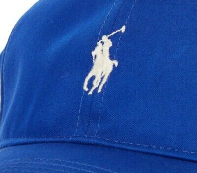 £22.99 • Buy POLO GOLF RALPH LAUREN Royal Blue Logo Cap 100% OFFICIAL RRP £35 NEW WITH TAGS