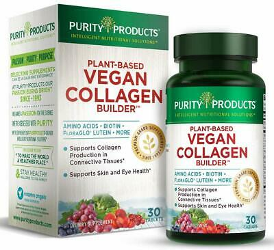 $19.95 • Buy Vegan Collagen Builder - Purity Products - Key Plant-Based Ingredients 30 Count