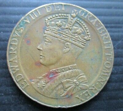 £5.99 • Buy 1937 King Edward Viii Medal In Commemoration Of The Coronation - Abdicated