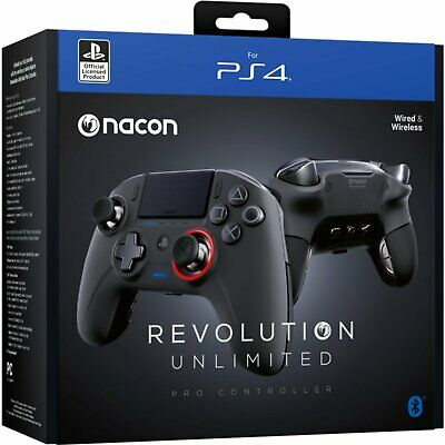 AU244.55 • Buy Nacon PS4 Revolution Pro Unlimited Gaming Controller (Bluetooth)