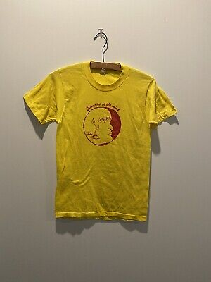 $ CDN42.80 • Buy Vintage Screen Stars 50/50 Tee T Shirt Olympics Of The Mind Graphic Small USA
