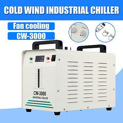 £148.06 • Buy CW-3000 Industrial Water Chiller For CO2 Glass Laser Tube Laser Cutter Engraver