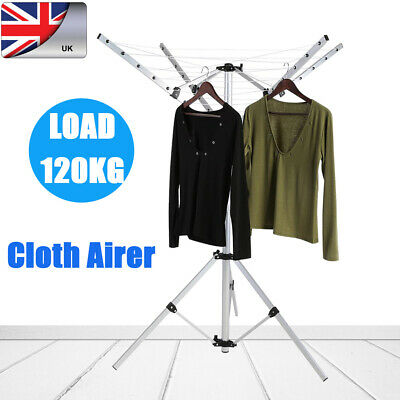 £38.93 • Buy Rotary Clothes Dryer Airer Washing Line Clothes Laundry Folding Camping Outdoor