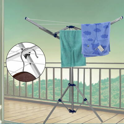 £40.02 • Buy Rotary Clothes Dryer Airer Washing Line Clothes Laundry Folding Camping Outdoor