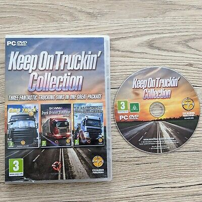 £5.95 • Buy Keep On Truckin Collection, Euro Truck, Scania Driving Simulator, & Trailers PC